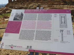Plans of Hera's temple