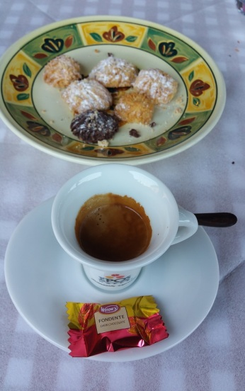 Coffee with treats