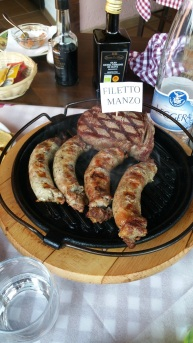 Dinner at La Chianina