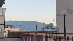 Mt Vesuvius from my hotel