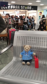 Waiting for my flight