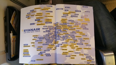 Ryanair flies all over Europe