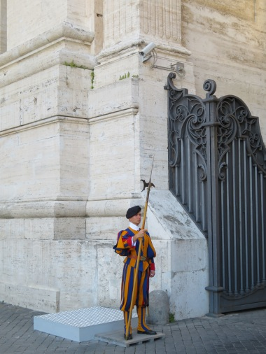 The famous Swiss guard