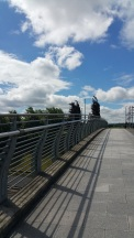 Cool bridge in Partick