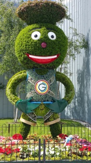 Glasgow museums' mascot