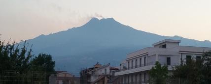 Mt Etna from Giardini-Naxos