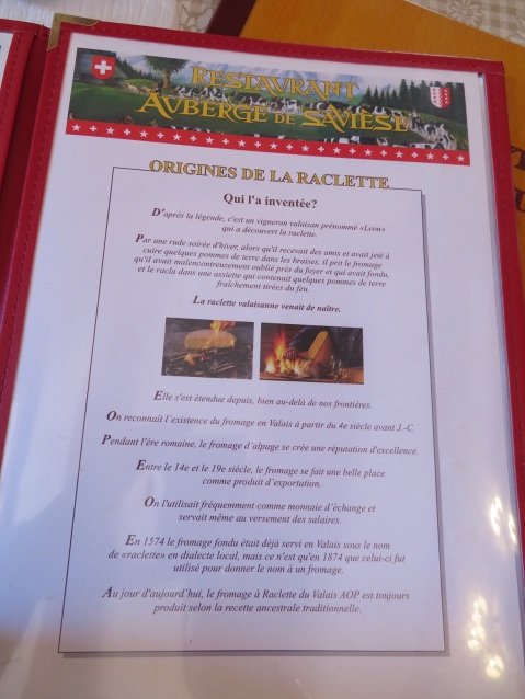 The history of raclette