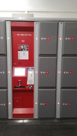 Luggage lockers