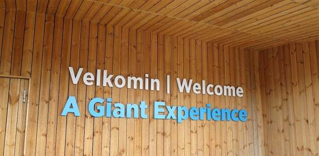 Definitely a giant experience!