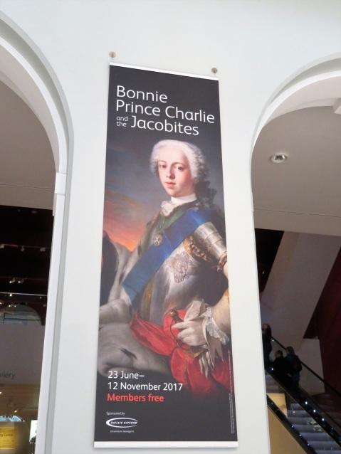 Bonnie Prince Charlie exhibit