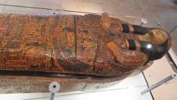 Sarcophogi are where mummies sleep